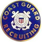 USCG Recruiter Badge