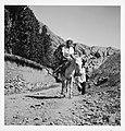 CH-NB - Persien, Farmanieh (Farmaniye)- Frau auf einem Esel (Lokalisierung unsicher) - Annemarie Schwarzenbach - SLA-Schwarzenbach-A-5-06-120.jpg