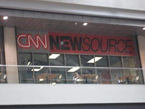 CNN Newsource - CNN NewSource Offices at the CNN Center in Atlanta, GA.