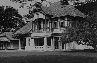 Deli Company - Image: COLLECTIE TROPENMUSEUM Huis van de directeur van het Deli Proefstation voor Tabak T Mnr 60047127