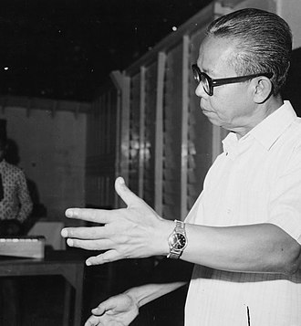 Angklung - Daeng Soetigna in 1971