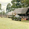 COLLECTIE TROPENMUSEUM President Jomo Kenyatta staande in een landrover tijdens de opening van de Eldoret Agricultural Show TMnr 20038659.jpg