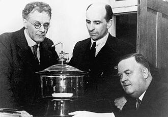 David Rivett - George Julius, David Rivett and Arnold Richardson
