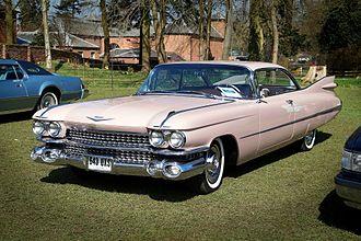 Cadillac de Ville series - 1959 Cadillac Coupe de Ville