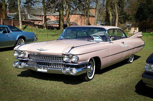 Cadillac Coupe de Ville, Weston Park Transport Show 2015 (16763492833)