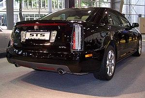 Cadillac STS at Poznań Motor Show