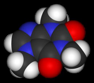 Caffeine (data page) - Image: Caffeine 3D vd W