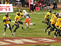 Cal on offense at 2008 Emerald Bowl 12.JPG