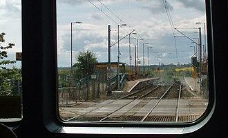 Callerton Parkway Metro station - Image: Callerton Parkway Metro station