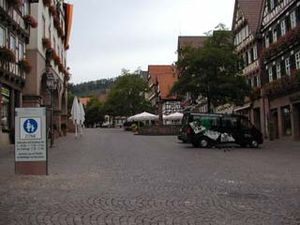 Calw - Image: Calw Marktplatz