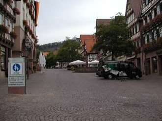 Calw (district) - Marketplace Calw