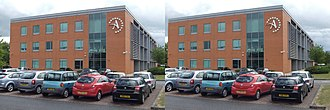 HP Autonomy - Autonomy Corporation headquarters at Cambridge Business Park.