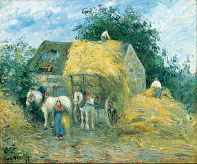 The Hay Cart, Montfoucault