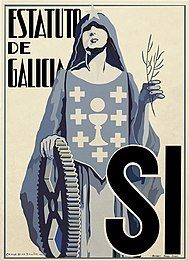 Camilo Díaz Baliño Estatuto de Galicia, sí