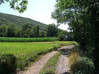 Meride - Dirt track near Meride