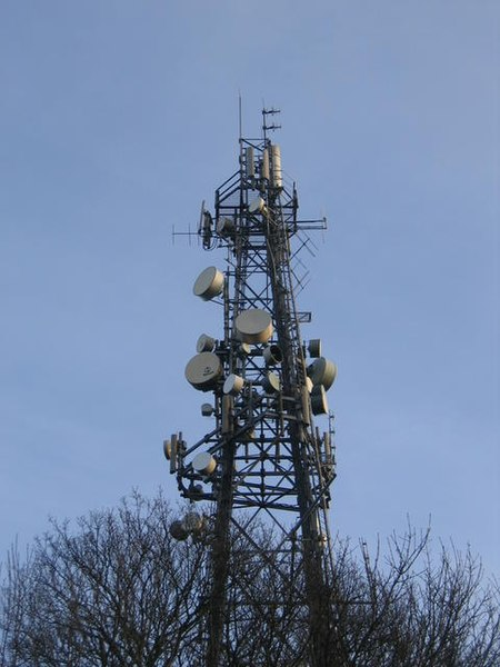 File:Campion Hills communications mast - geograph.org.uk - 110197.jpg