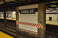 Canal Street Station wall in median.jpg