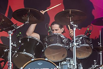 Cannibal Corpse - Image: Cannibal Corpse Rockharz 2018 03