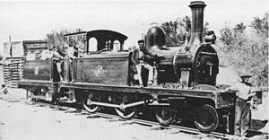 1875 in South Africa - CGR 1st Class 4-4-0T of 1875