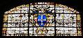 Cappella gaddi di smn, vetrata 1578-80 con stemma gaddi, 01.JPG