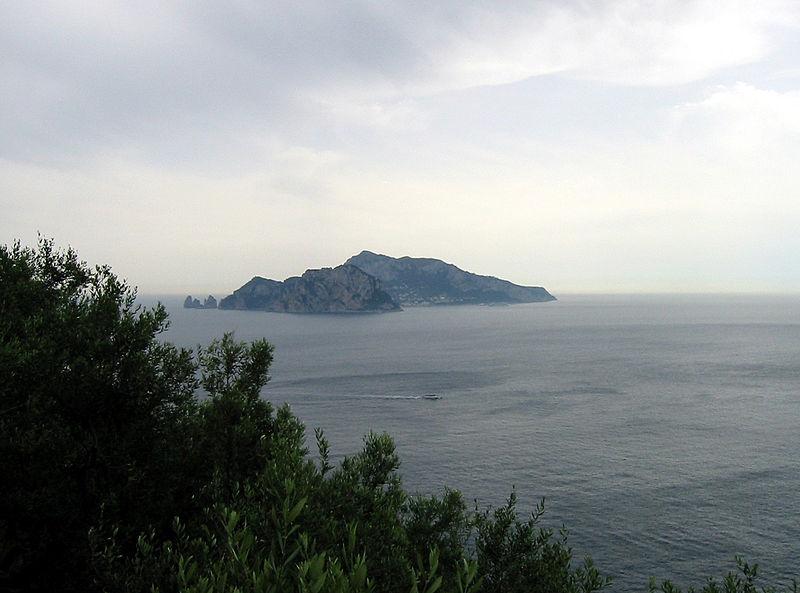 File:Capri From Punta Campanella.jpg