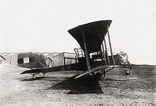 Un Caproni Ca.33 della francese Armée de l'air