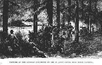 John Jackson Dickison - Image: Capture of USS Columbine 2