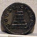 Caracalla, denario per settimio severo divinizzato, 211.JPG
