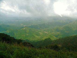 Periyar (river) - Cardamom Hills, Southern Western ghats, Near Thekkady in Kerala