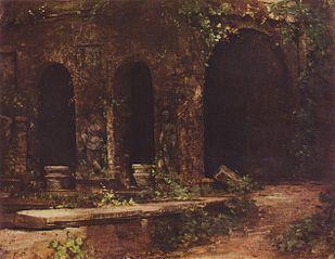 Grotte im Park der Villa d'Este