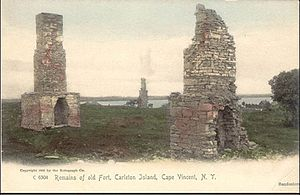 Carleton Island - Remains of Fort Haldimand, 1906