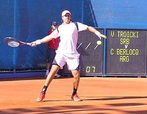 Carlos Berlocq in Umag, Croatia