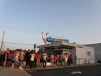 National Register of Historic Places listings in Fredericksburg, Virginia - Image: Carls Ice Cream