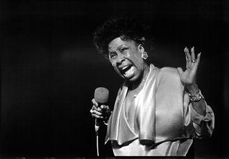 Grammy Award for Best Jazz Vocal Performance, Female - 1989 award winner Betty Carter performing in 1986