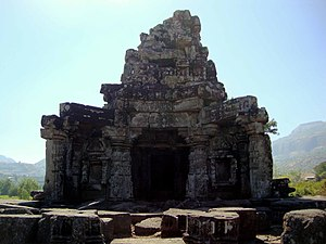 Anjaneri - Image: Carved temple 66