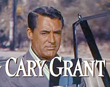 Cary Grant en 1955 en a cinta To Catch a Thief, d'Alfred Hitchcock.