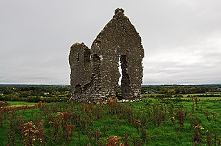 Knocklong Village in Munster, Ireland