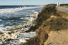 Caswell Beach Erosion 1998