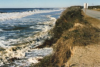 Caswell Beach, North Carolina - Caswell Beach Erosion–1998
