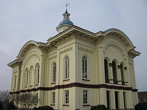 Caswell County Courthouse - Caswell County Courthouse, March 2009