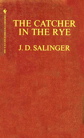 J. D. Salinger - Cover of The Catcher in the Rye 1985 edition