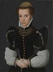 Caterina van Hemessen Portrait of a Young Lady 1560.jpg