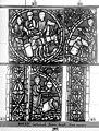 Cathédrale - Vitrail, déambulatoire, baie 57, Histoire de Joseph, cinquième panneau en haut - Rouen - Médiathèque de l'architecture et du patrimoine - APMH00032014.jpg