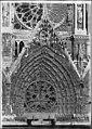 Cathédrale Notre-Dame - Portail central - Reims - Médiathèque de l'architecture et du patrimoine - APZ0002537.jpg