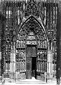 Cathédrale Notre-Dame - Portail nord de la façade ouest - Strasbourg - Médiathèque de l'architecture et du patrimoine - APMH00007657.jpg