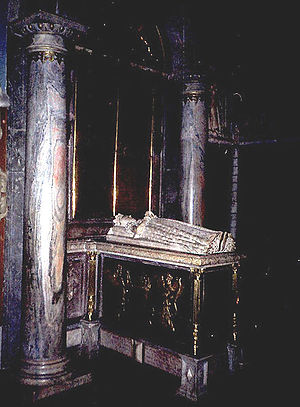 Catherine Jagiellon - Catherine's grave monument over John's family crypt in Uppsala Cathedral