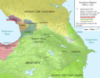 Arab rule in Georgia - Georgia and the Caucasus after the establishment of the Emirate.