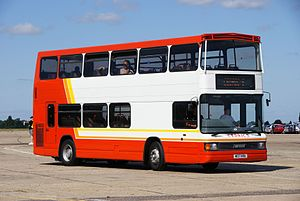 Cedric's Coaches coach (M137 KRU), 2010 North Weald bus rally.jpg