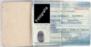 Documento Personal De Identificación Wikipedia La Enciclopedia Libre