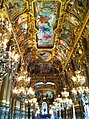 Ceiling in the front foyer - Garnier Opera House, Paris - panoramio.jpg